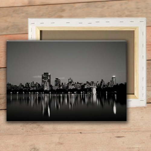 Print Canvas with frame